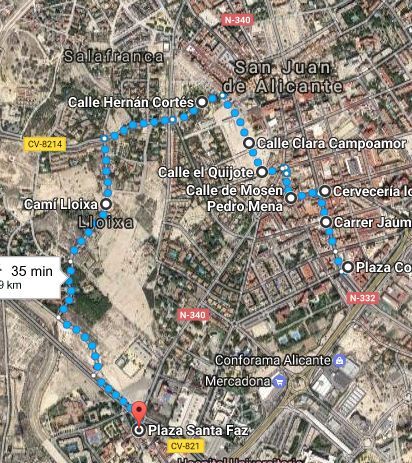 Itinerario Romería