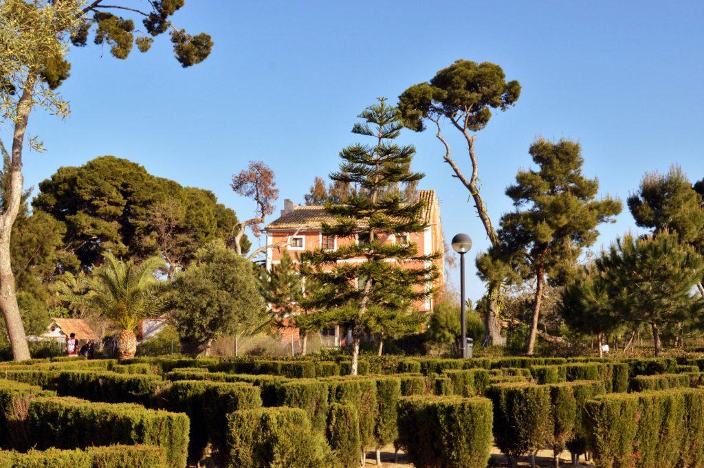 jardines de Manzaneta y La Concepción