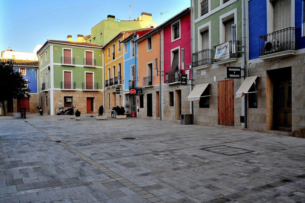 plaza Sant Faz